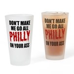 Philadelphia Baseball Drinking Glass