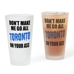 Toronto Baseball Pint Glass