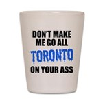 Toronto Baseball Shot Glass