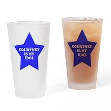Courtney Is My Idol Pint Glass