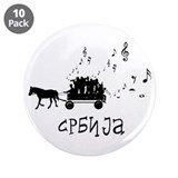 "Serbian Party (3.5"" Button (10 pack))"
