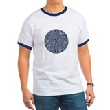 Sacred Geometry in Blue T