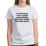 Social Networking Site That W Women's T-Shirt