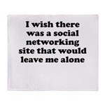Social Networking Site That W Throw Blanket
