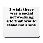 Social Networking Site That W Mousepad