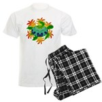 Flame Turtle Men's Light Pajamas