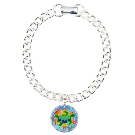 Flame Turtle Charm Bracelet, One Charm