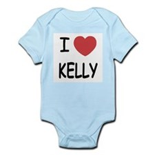 I heart kelly Infant Bodysuit