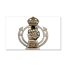 Royal Armoured Corps Car Magnet 12 x 20
