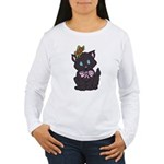 Dotty Cat Women's Long Sleeve T-Shirt