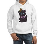 Dotty Cat Hooded Sweatshirt