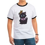 Dotty Cat Ringer T