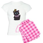 Dotty Cat Women's Light Pajamas