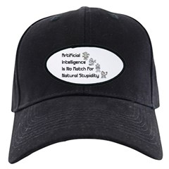 Artificial Intelligence Black Cap