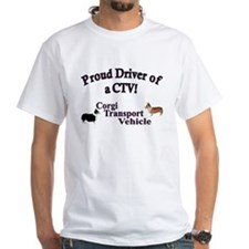 Corgi Tranportation Vehicle Shirt
