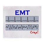 EMT/Paramedics Throw Blanket