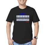 EMT/Paramedics Men's Fitted T-Shirt (dark)