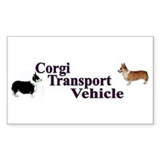 Corgi Tranportation Vehicle Decal