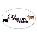 Corgi Tranportation Vehicle  Aufkleber