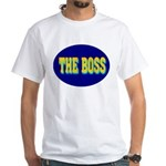 The Boss White T-Shirt