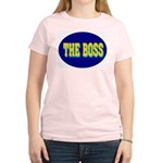 The Boss Women's Pink T-Shirt