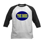 The Boss Kids Baseball Jersey