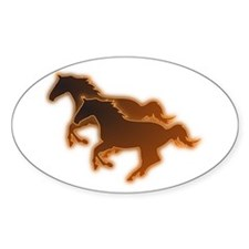 Two Horses Decal