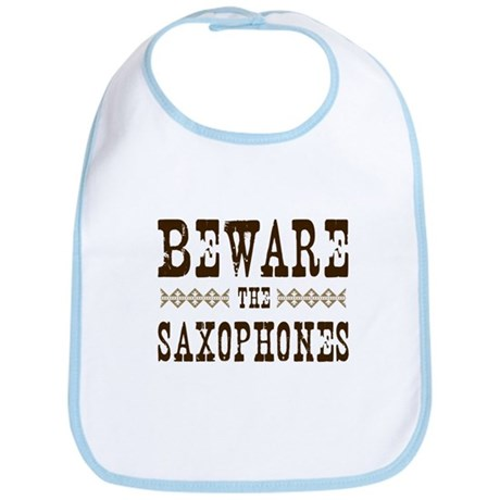 Beware the Saxophones Bib