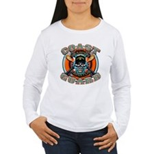 US Coast Guard Skull M-4s T-Shirt