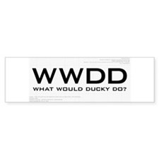 What Would Ducky Do? Bumper Sticker