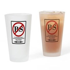 No BS Anytime Pint Glass