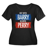 Rick Perry 2012 Women's Plus Size Scoop Neck Dark