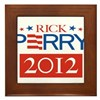 Rick Perry 2012 Framed Tile