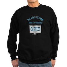 Do Not Disturb Watching Castle Sweatshirt (dark)