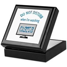 Do Not Disturb Watching Castle Keepsake Box