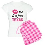Kiss Me Im From Texas pajamas