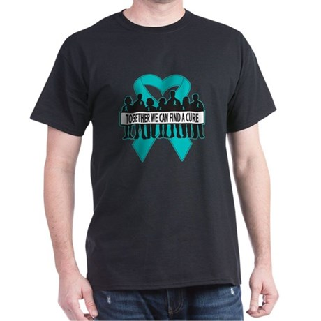 Ovarian Cancer Together Dark T-Shirt