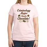 Criminology Major Gift T-Shirt