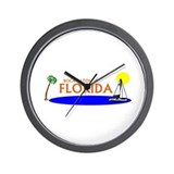 Cute Boca raton florida Wall Clock