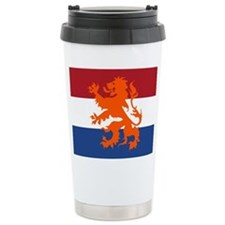 Holland Lion Ceramic Travel Mug