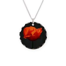 Unique Remember poppy Necklace