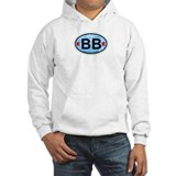 Bethany Beach DE - Oval Design. Jumper Hoody