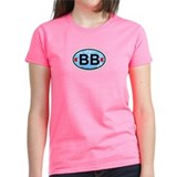 Bethany Beach DE - Oval Design. Tee