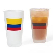 Flag of Colombia Drinking Glass