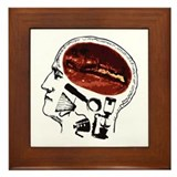 Coffee For Brains Framed Tile