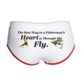 &amp;quot;Fisherman's Heart&amp;quot; Women's Boy Brief