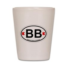 Bethany Beach DE - Oval Design. Shot Glass