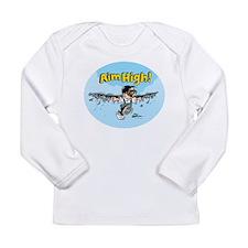 Aim High! Long Sleeve Infant T-Shirt