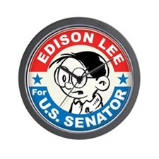 Edison for Senator Wall Clock
