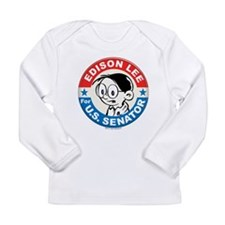 Edison for Senator Long Sleeve Infant T-Shirt